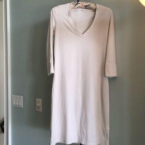 JAMES PERSE   V-NECK TEE DRESS